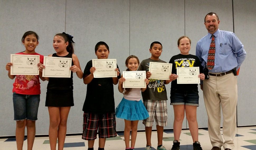 4th and 5th grade writers of the month