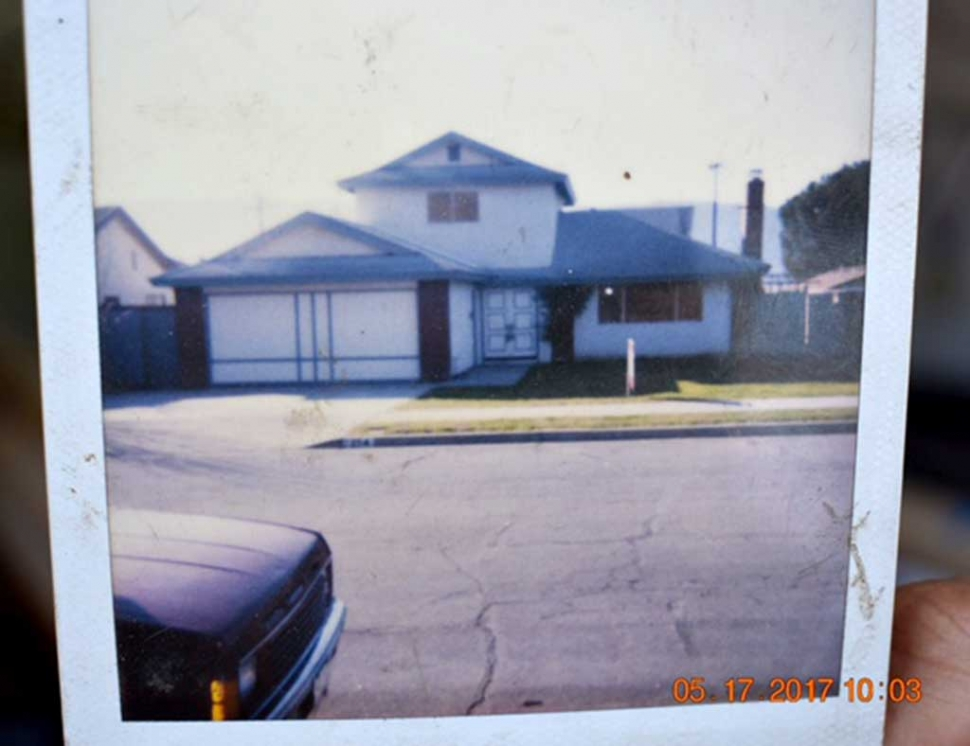 Photo of the way the house looked before.