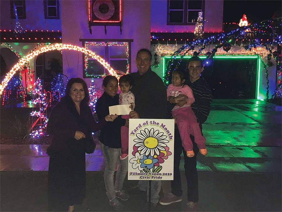 "Pictured is a past Christmas ""Yard of the Month"" decorating award winner, given by the Vision 2020-Civic Pride Committee. Get your decorating done early and you may win this year's $40 gift certificate from Otto and Sons Nursery. Photo courtesy Theresa Robledo."